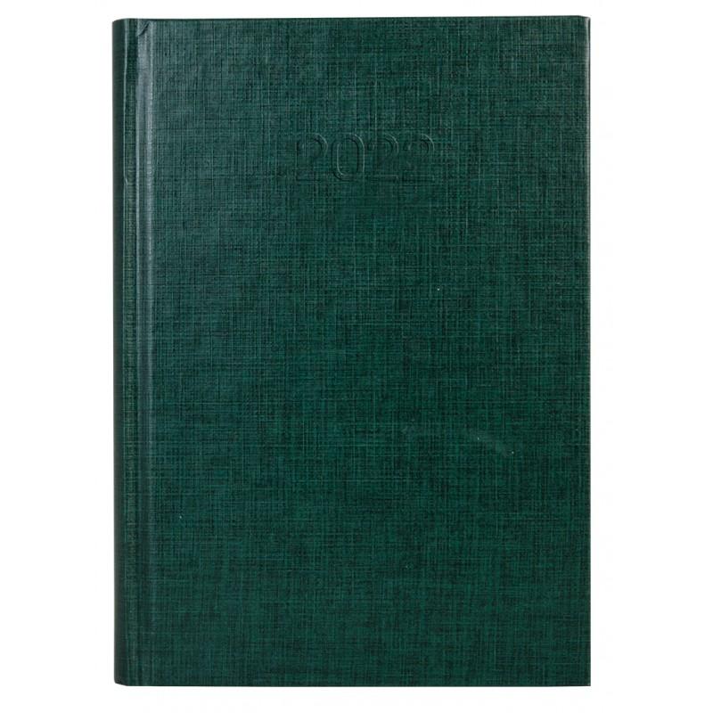 Ежедневник датированный 2022г., BASIC, зеленый, А5, E21813-04