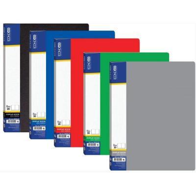 Папка А4 c 20 файлами, ассорти Economix