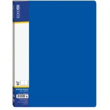 Папка А4 з 20 файлами Economix, синя