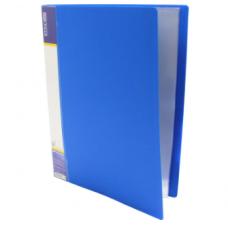 Папка А4 c 30 файлами, Economix, синяя