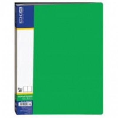 Папка А4 с 40 файлами Economix, зеленая