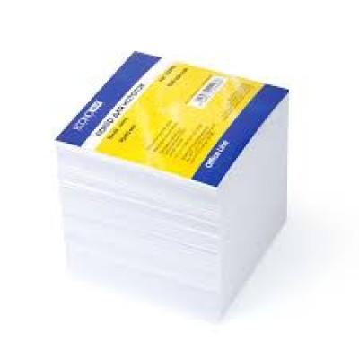 Бумага для заметок Economix, белая, 90х90, 1000 л