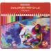 """Карандаши цветные """"Premium"""", 24 цвета, трехгранные, в металлической коробке - Фото 2"""