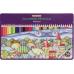 """Карандаши цветные """"Premium"""", 36 цветов, шестигранные, в металлической коробке - Фото 2"""