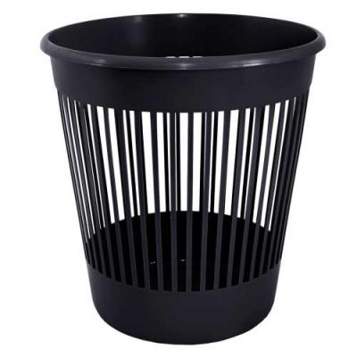 Кошик для паперу чорний 12 л