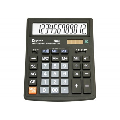 Калькулятор настольный бухгалтерский Optima