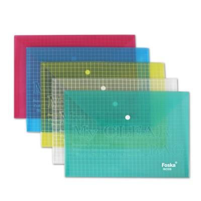 Папка-конверт пластик ассорти