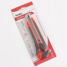 Канцелярский нож 18мм с лезвием 0,5мм