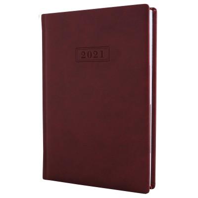 Ежедневник датированный, VIVELLA, бордо, А5, O25230-18