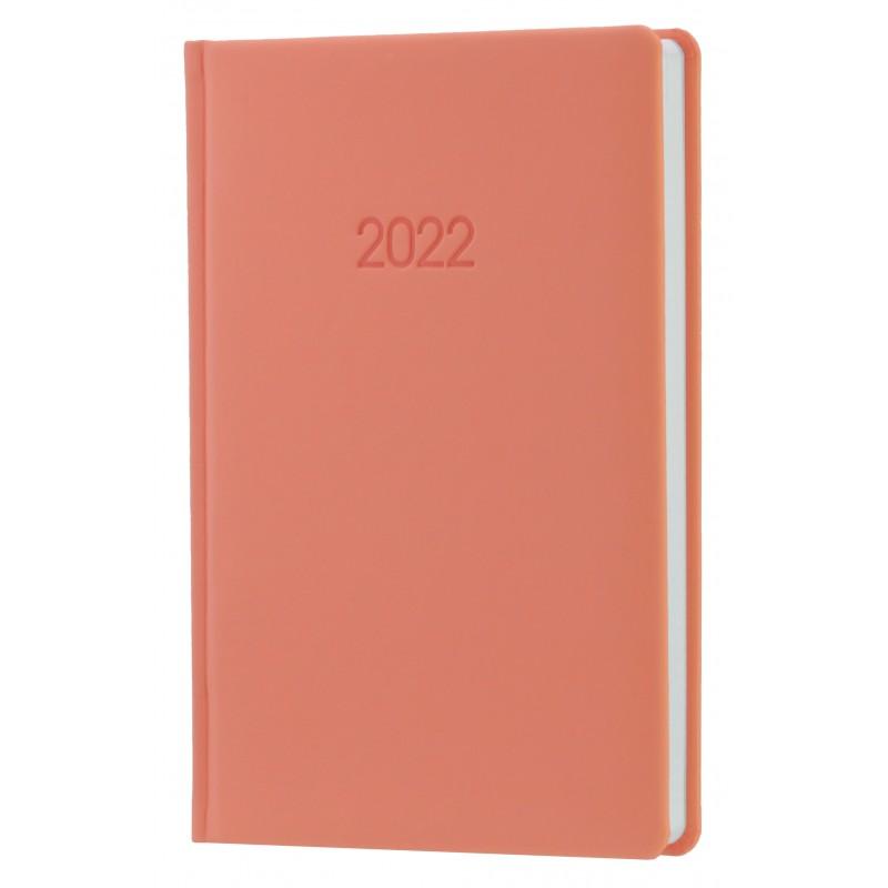 Ежедневник датированный 2022г., VIENNA, пудровый розовый, А5, O26166