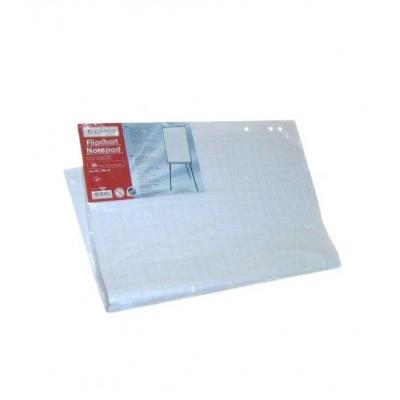 Блокнот для флипчарта Optima, 20 л., Размер 640х900 мм, 70 г / м2, клетка