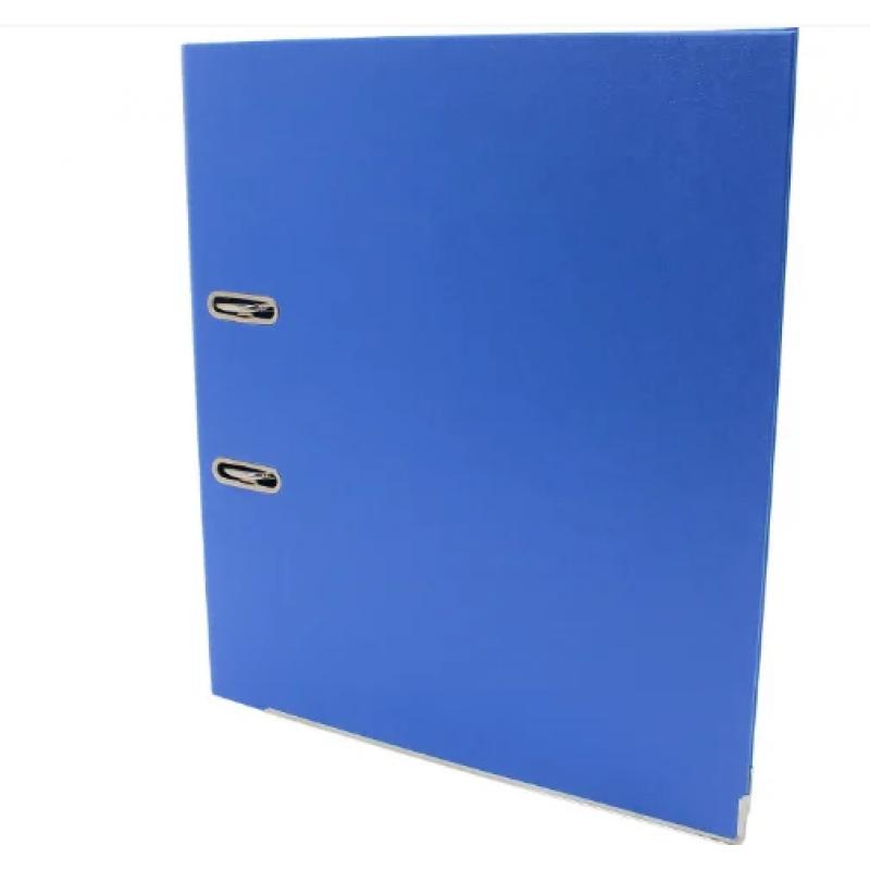 Папка регистратор А4, 70 мм Люкс Economix, синяя