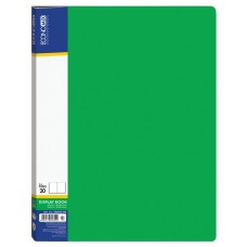 Папка А4 з 20 файлами Economix, зелена