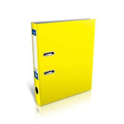 Папка регистратор А4, 70 мм Economix, желтая