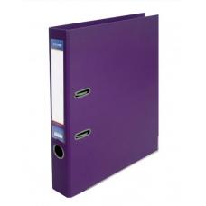 Папка регистратор А4 LUX Economix, 50 мм, фиолетовая