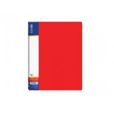 Папка А4 з 20 файлами Economix, червона