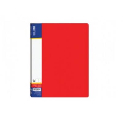 Папка А4 с 20 файлами Economix, красная