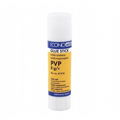 Клей-карандаш Economix основа PVP 8 г