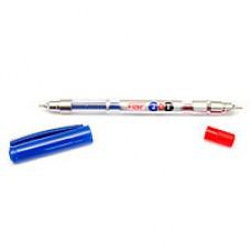 Ручка гелевая Flair сине-красная 2 в 1 двусторонняя