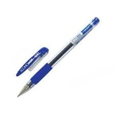 Ручка гелевая синяя  Economix Gel 0.5mm
