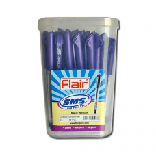 Ручка шариковая Flair 834 фиол SMS