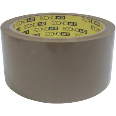 Лента клейкая упаковочная (скотч) 48*66 Economix коричневая