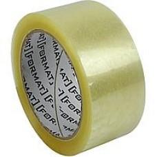 Лента клейкая канцелярская 24 мм х 10 Format прозрачная