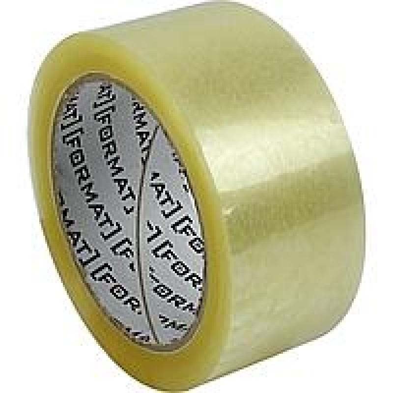 Лента клейкая канцелярская 24 мм х 30 Format прозрачная