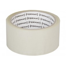 Лента клейкая упаковочная 45 мм х 66 Format прозрачная