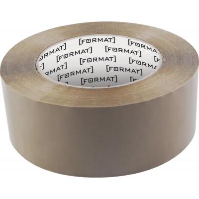 Лента клейкая упаковочная 45 мм х 66 Format коричневая