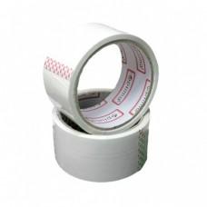 Лента клейкая упаковочная (скотч) 48*30 Optima белая